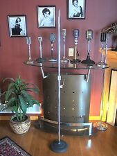 Vintage RARE 1950's Atlas microphone floor stand cast iron MS-12C MS-20 old