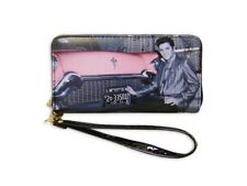 Elvis Presley Zipper Wallet With Car - Licensed New