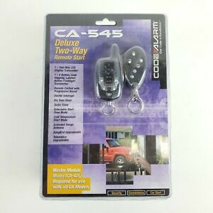 Code Alarm CA-545 Deluxe Two-Way Remote Start Key Fob