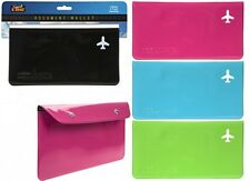Travel Document Wallet ideal for Tickets Passport - Holiday