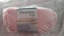 Patons Dreamtime Merino 8 Ply #0333 Sweet Pink Pure Wool 50g