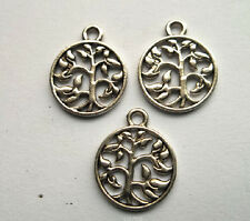 50pcs Tibetan silver Charm pendant  18x15 mm
