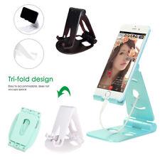 Foldable Universal Cell Phone Tablet Desk Stand Holder Mount Cradle Adjustable