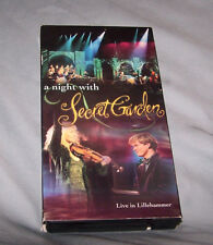 A Night With Secret Garden Live in Lillehammer VHS New Age concert