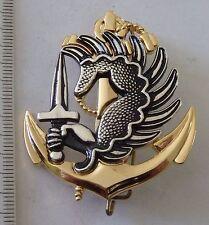 insigne militaire <> pucelle TROUPE DE MARINE PARACHUTISTE
