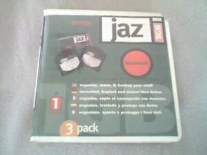 IOMEGA JAZ 1Gb MAC Disk & Plastic Case - 1 Pack (1 Disk) - PC Formatted - USED