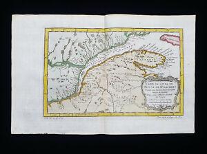 1754 J.N. BELLIN: NORTH AMERICA, CANADA, Saint LAURENT, QUEBEC, GREAT LAKES...