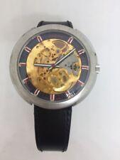 Vintage NOS 1970s Reloj esqueleto automático Vulcain. nunca Usado!!!