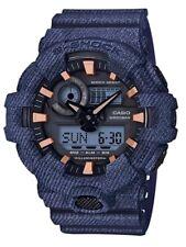 Casio G-Shock *GA700DE-2A Front Button Anadigi Denim Pattern Blue COD PayPal
