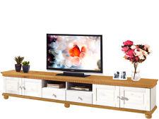 TV Schrank Lowboard Fernsehtisch Fernsehschrank Wohnzimmer Landhaus Kiefer Holz