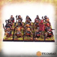 TTCombat BNIB Halfling Shield Maiden Warriors TTFHR-HSM-001