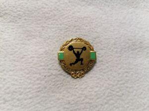 2020 Tokyo - Libya Weightlifting Federation pin