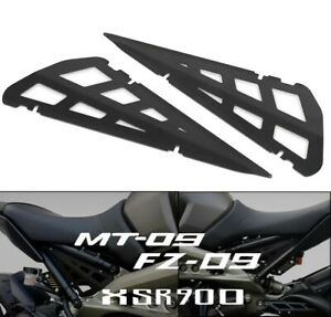 For YAMAHA MT-09 MT09 FZ-09 FZ09 XSR900 2015+ Motorcycle Frame Side Carter Cover