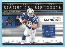 2007 Rookies & Stars Standouts #2 Peyton Manning Prime Laundry Tag Patch #05/25