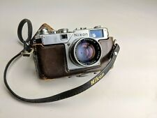 RARE! Nikon S4 EP 35mm Rangefinder Camera with 50 mm lens