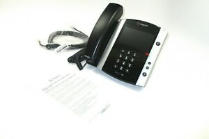 NEW Polycom  VVX 600 16-Line Phone with Power Supply 2200-44600-001