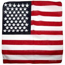 USA America Flagge Halstuch Kopfbedeckung Kopftuch Bänder Schal Halsschal UK
