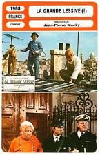 FICHE CINEMA : LA GRANDE LESSIVE - Bourvil,Blanche,Mocky 1968 The Big Wash