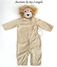 NEW Pottery Barn Kids Halloween BABY LION COSTUME 6-12 9 MOS NWT wild zoo animal
