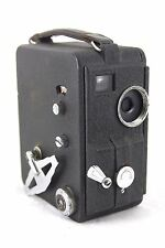 vintage Dekko film/cine camera, metal bodied, no lens, running, as shown