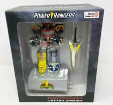 "Mighty Morphin Power Rangers Megazord Letter Opener 10"" Statue + Stand"