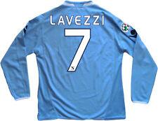 maglia Napoli Lavezzi 2009/2010 Home Jersey Diadora XL Lete LETE