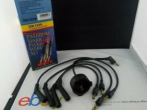 Spark Plug Wire Set Wells QW1229 fits 1985 Honda Accord 1.8L-L4 NOS