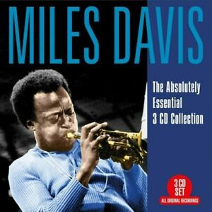 Miles Davis Absolutely Essential Remastered 3 CD Digipak NEW