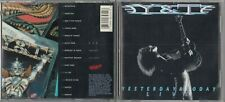 T - Yesterday & Oggi Live CD 1991 Metallo Lama