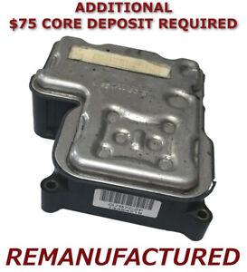 REMAN 2000 2001 2002 2003 Suburban 1500 2500 ABS Pump Control Module <Exchange>