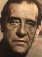 Paul Facchetti Portrait de Maurice Utrillo Lithographie Ancien Photo