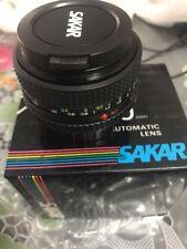 Sakar 50mm Automatic Lens F 1.8 New