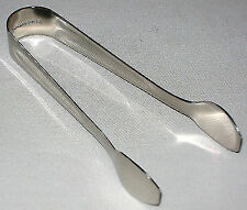 NEW STAINLESS STEEL SUGAR TONGS FOR SUGARCUBES CUBES TALA 7670
