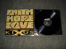 king´s x,faith,hope,love,vinyl,lp,orig.german press.1990