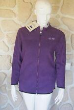 Veste polaire épaisse violette neuve taille S marque Eric Tabarly étiqueté à 89€