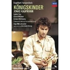 JONAS KAUFMANN - KÖNIGSKINDER 2 DVD NEW+ OPER ENGELBERT HUMPERDINCK