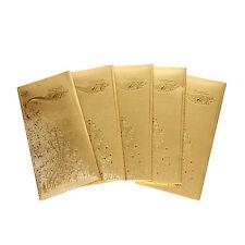 10 pcs 24 Karat Gold Foil Envelope By JEWEL FUEL
