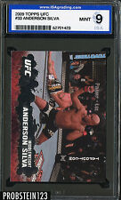 2009 Topps UFC #33 Anderson Silva ISA 9 MINT