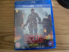 DREDD 3D . BLU-RAY 3D . MINT UNUSED STILL SEALED .