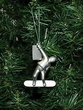 Snowboard, Snowboarding Christmas Ornament