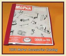 New 1954 Mopar Accessory Catalog Plymouth Chrysler Dodge DeSoto Imperial gift