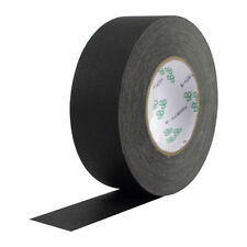 2 Inch X 30 Yards Black Waterproof Non-Reflective Photography Stage Gaffer Tape