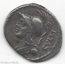 Denarius Republic Roman Family Gens Servilia 100 a. C. @Very Nice@