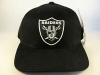 Oakland Raiders NFL Vintage Strapback Hat Cap American Needle Black