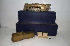 MAX GRAY O SCALE BRASS NKP 2-8-4 BERKSHIRE STEAM LOCOMOTIVE & TENDER, BOXED