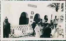 Algérie, Touggourt, La Gare  Vintage silver print, Provenant d'un album de