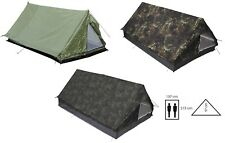 Tent Minipack 2 Person Two-Man Outdoor Mosquito Net Camping Bw Bundeswehr