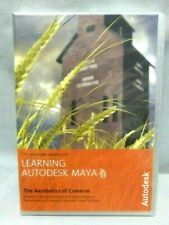 LEARNING AUTODESK MAYA The Aesthetics of Cameras DVD 187177275 9781897177273 NEW