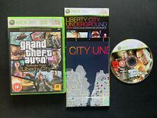 GTA Grand Theft Auto Episodes From Liberty City con MAPA XBOX 360 PAL ESPAÑOL