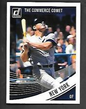 """MICKEY MANTLE 2018 DONRUSS VARIATION #200 """"THE COMMERCE COMET"""" NEW YORK YANKEES"""